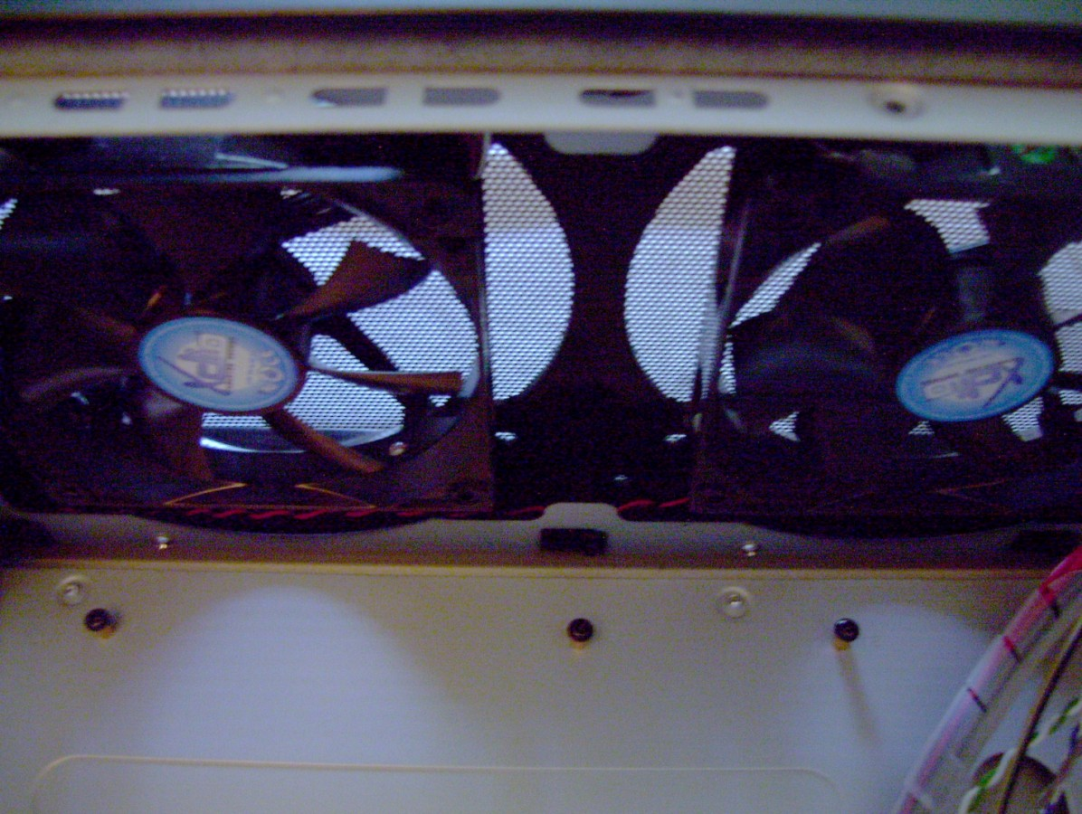 from Tommy how do i hook up case fans