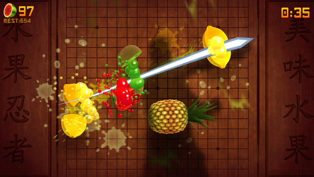 how to dry fruit fruit ninja